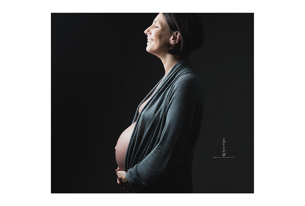 Photographies d'une future-maman et sage-femme *